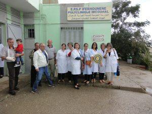 Photo avec l'equipe de l'EPSP