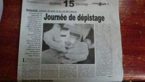 Article de La Depeche de Kabylie